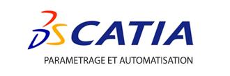 Logo Logiciel Catia Parametrage Automatisation ATFI Formations