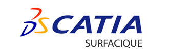 Logo Logiciel Catia Surfacique ATFI Formations