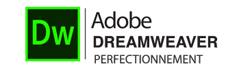 Logo Formation Dreamweaver Perfectionnement