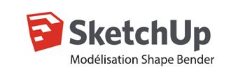 Logo Formation Scketchup Modelisation Shape Bender