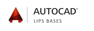 Logo Formation Autocad Lips Bases