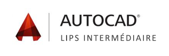 Logo Formation Autocad Lips Intermediaire