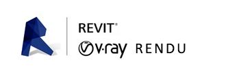 Logo Formation Vray Rendu Revit