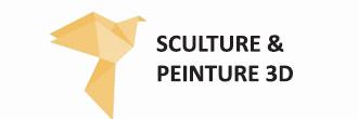 Logo Formation Sculpture Peinture 3d