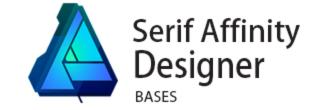 logo formation serif affinity designer
